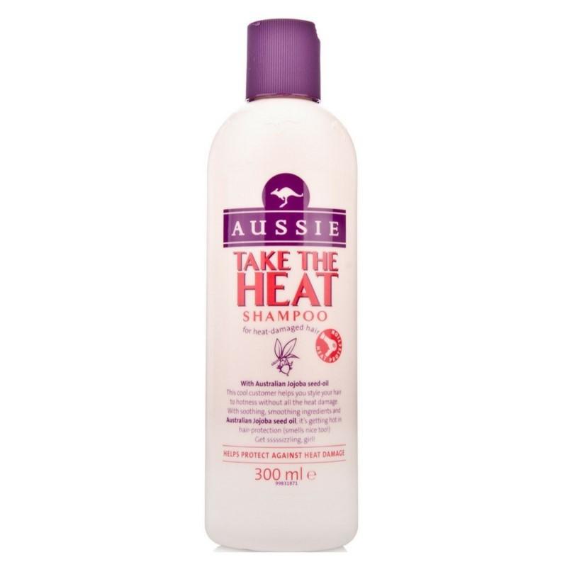 Aussie Take The Heat Shampoo 300 ml.