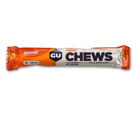 GU Chews - Energi vingummi - Orange - 54 gram