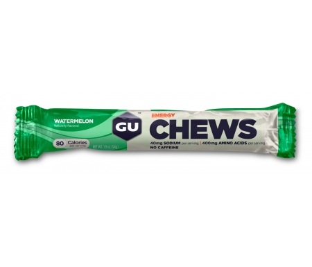 GU Chews - Energi vingummi - Watermelon - 54 gram