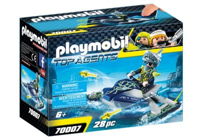 Playmobil - Top Agents Vandscooter Med Raketter - 70007