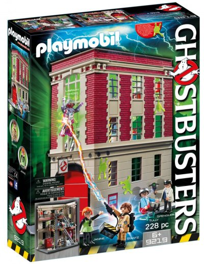 Playmobil Ghostbusters - Brandstation