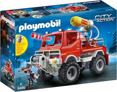 Playmobil Brandbil Med Vandkanon - City Action
