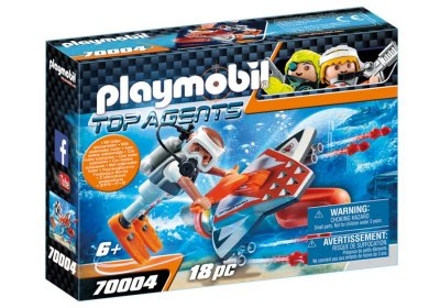 Playmobil - Spy Team Subwing - 70004