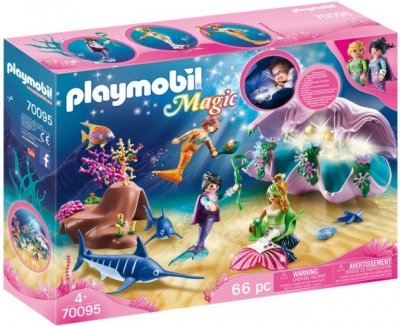 Playmobil - Magic - Havfrue Natlampe I Perlemor - 70095