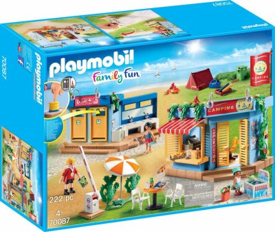 Playmobil - Family Fun - Stor Campingplads - 70087