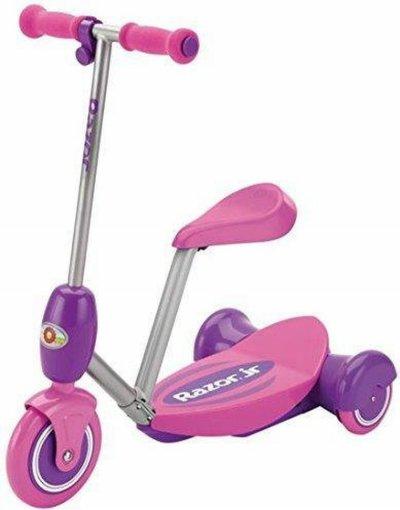 Razor Lil' E - El Løbehjul Til Børn Med Sæde - Elektrisk - 3 Km/T - Pink