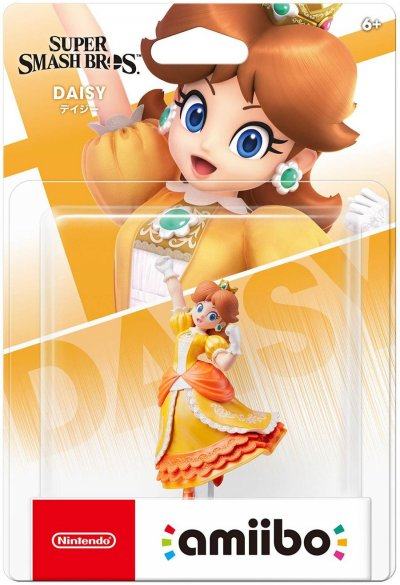 Nintendo Amiibo Figur - Daisy - Super Smash Bros