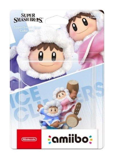 Amiibo Ice Climbers Figur - Super Smash Bros. Collection