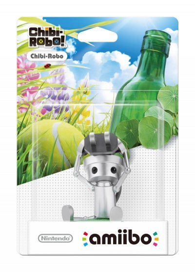 Nintendo Amiibo Figur - Chibi-Robo