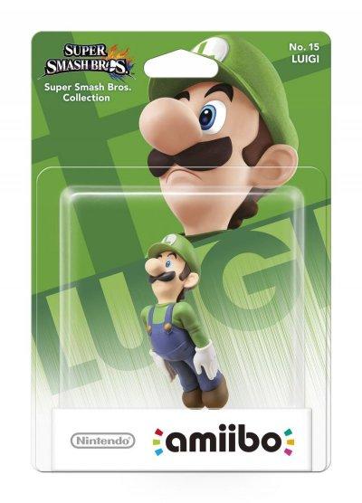 Nintendo Amiibo - Super Smash Bros. Figur - Luigi