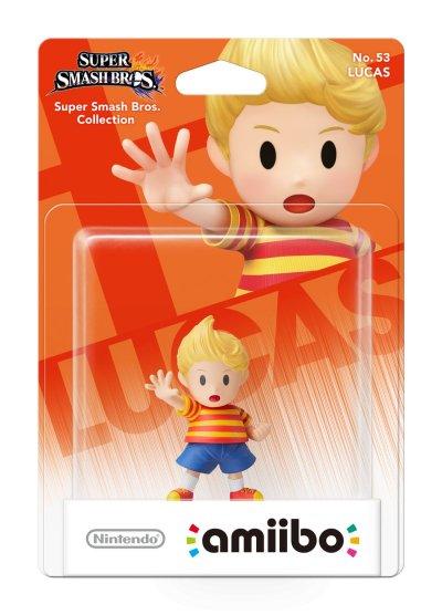 Nintendo Amiibo - Super Smash Bros. Figur - Lucas