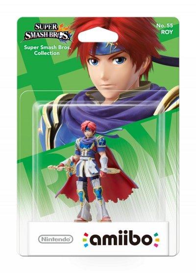 Nintendo Amiibo - Super Smash Bros. Figur - Roy