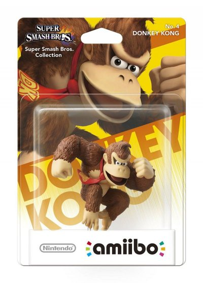 Nintendo Amiibo: Super Smash Bros. Figur - Donkey Kong