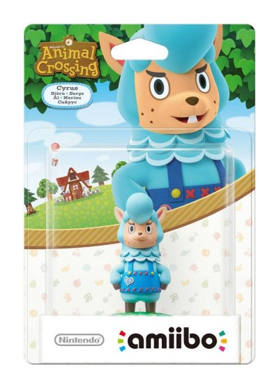 Nintendo Amiibo - Animal Crossing Figur - Cyrus