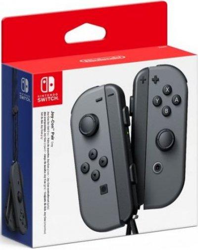 Nintendo Switch Joy-Con Controller Pair - Højre Og Venstre - Grå