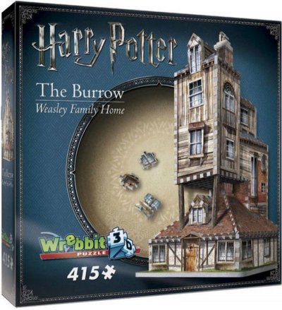 Wrebbit 3D Puzzle - Harry Potter: The Burrow - Weasley Family Home