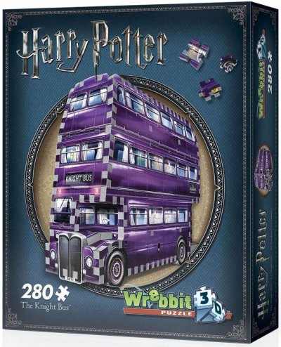 Harry Potter: The Knight Bus - Wrebbit 3D Puslespil
