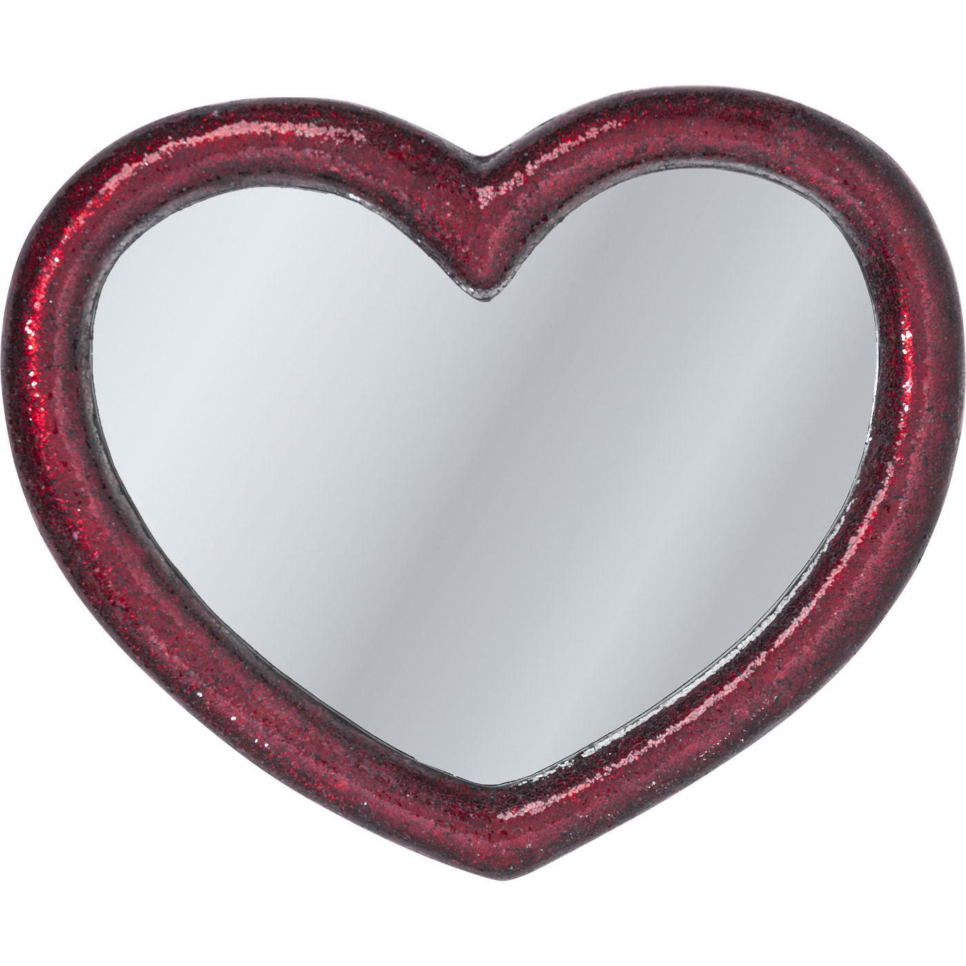 KARE DESIGN Spejl, Mosaik Heart 100x123cm