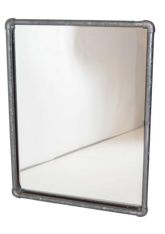 TRADEMARK LIVING vgspejl - spejlglas, m. r jernramme af rr (90x71)