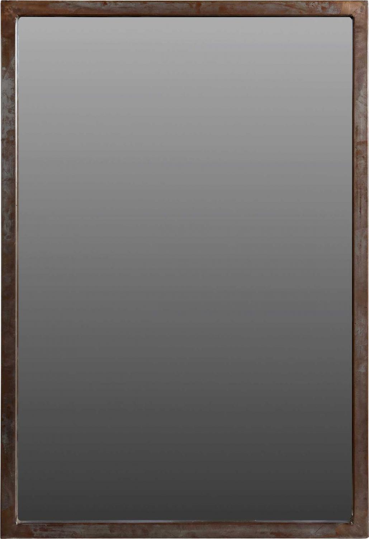 TRADEMARK LIVING vgspejl - spejlglas, m. r jernramme (100x68)
