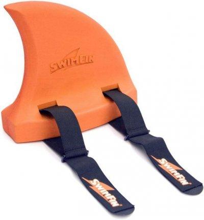 Swimfin Hajfinne / Svømmefinne Til Børn - Orange