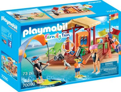 Playmobil - Family Fun - Vandsportsskole - 70090