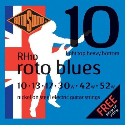 Rotosound Rh10 El Guitar Strenge Sæt 10-52