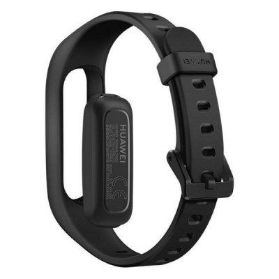 Huawei Band 3E - Pulsur Med Skridttæller - 0,5 Cm - Sort
