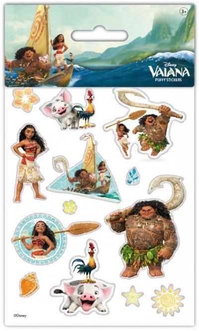 Disney Vaiana 3D Klistermærker