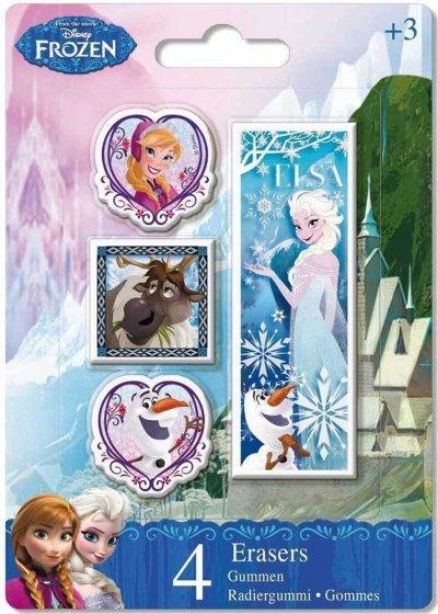 Disney Frost Viskelæder - 4 Stk