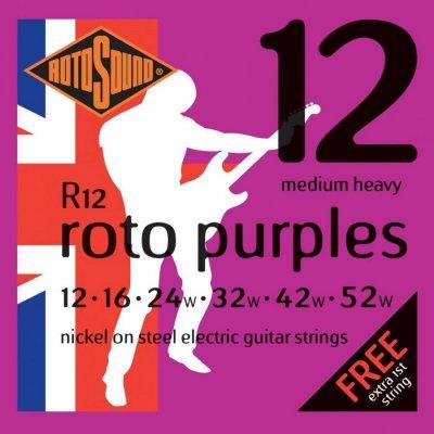 Rotosound R12 El Guitar Strenge Sæt 12-52