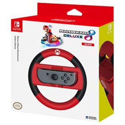 Nintendo Switch Racing Wheel - Mario Kart 8 Deluxe