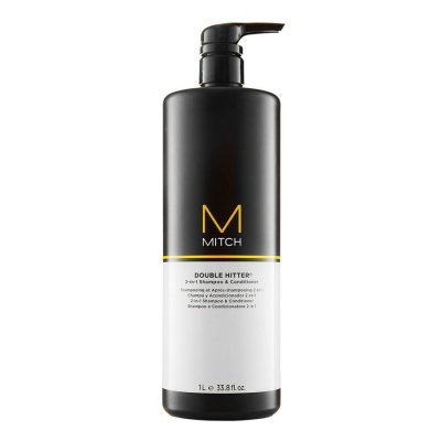 Paul Mitchell 2-I-1 Shampoo Og Conditioner - Double Hitter 1000 Ml
