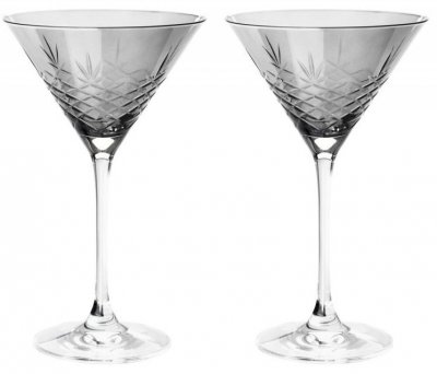 Frederik Bagger - Crispy Dark Cocktail Krystal Glas - 2-Pak