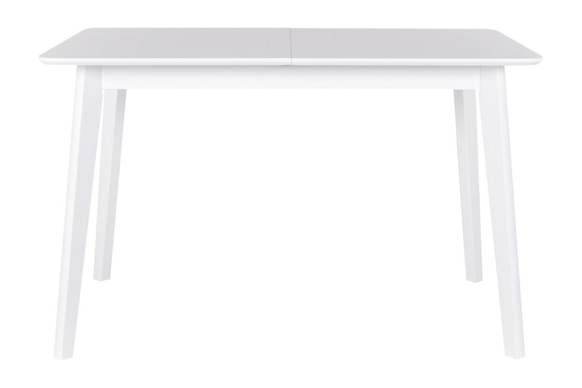 CANETT Tilde spisebord - hvidt tr, m. udtrk, inkl. tillgsplade (120x75)