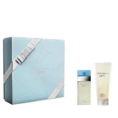 Dolce & Gabbana - Light Blue Edt 100 Ml + Body Cream 100 Ml - Gavesæt