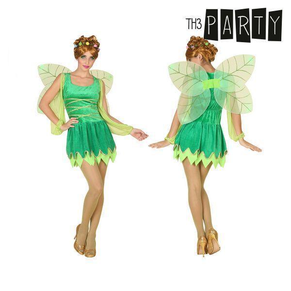 Kostume til voksne Fe Grøn