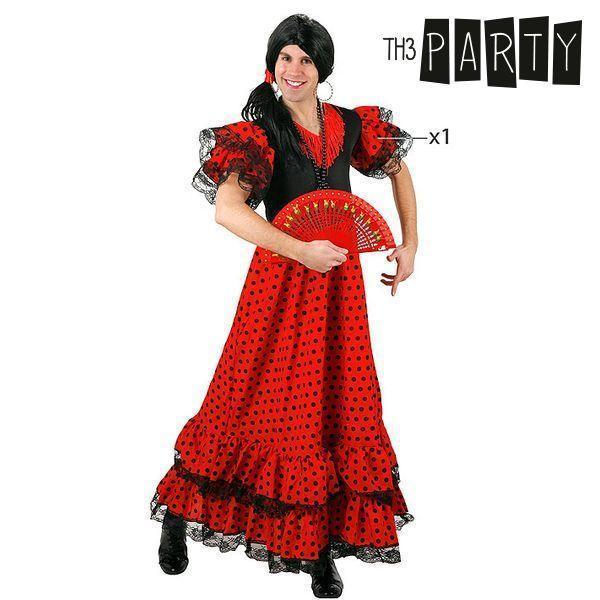 Kostume til voksne 4569 Flamenco danser