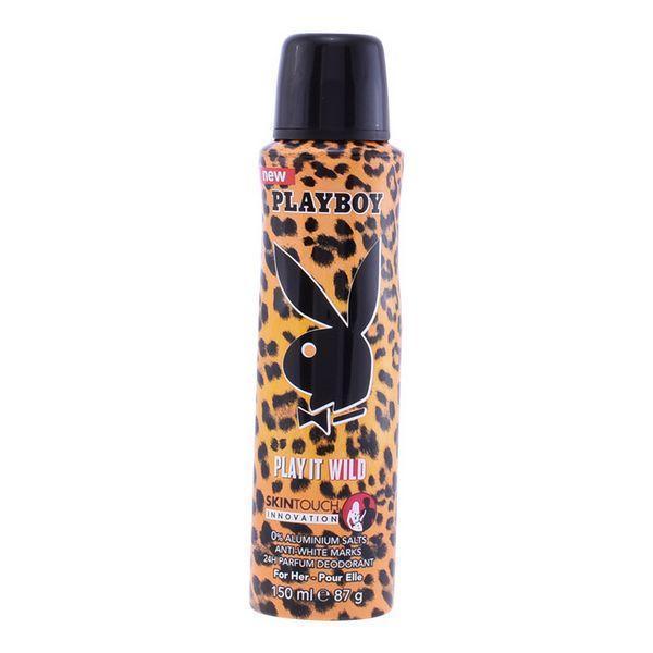 Spray Deodorant Play It Wild Her Playboy (150 ml)