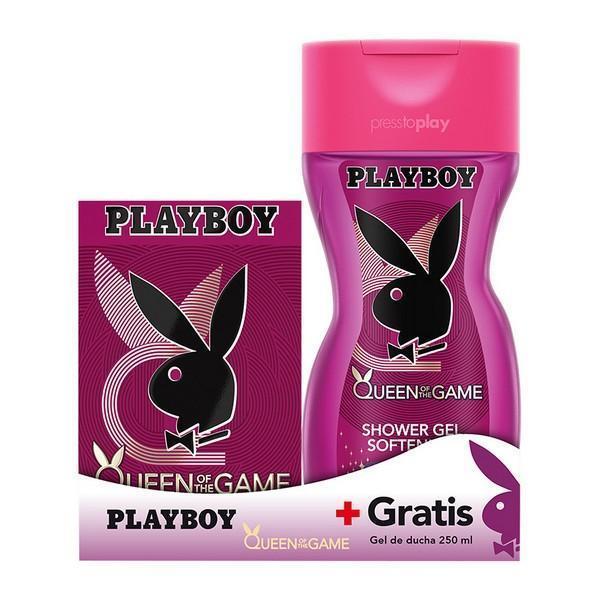 Parfume sæt til kvinder Queen Of The Game Playboy (2 pcs)