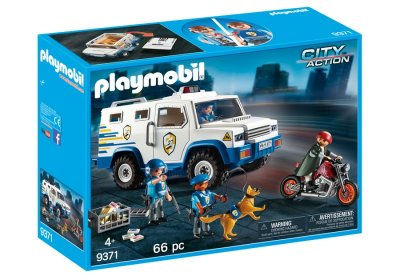 Playmobil City Action 9371 - Pengetransport