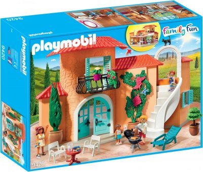 Playmobil Family Fun - Solrig Ferievilla - 9420