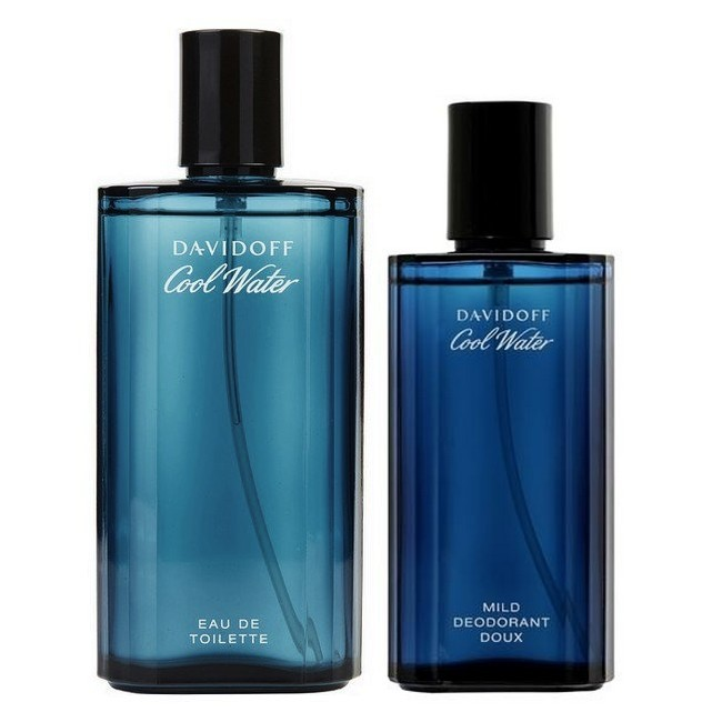 Cool Water Men Duo - 75 ml Edt - Deodorant Spray 75 ml