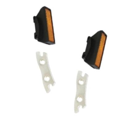 Shimano Reflekser - Til Shimano pedal model PD-A530 - Sæt af 2 stk.