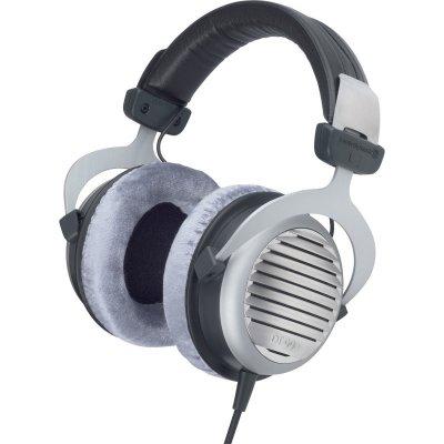 Beyerdynamic Dt 990 Høretelefoner / Hovedtelefoner 600 Ohms - Grå Og Sort