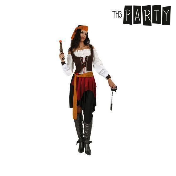 Kostume til voksne Pirat kvinde