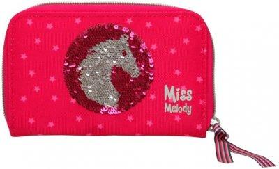 Miss Melody - Pung Med Pailletter - Rød