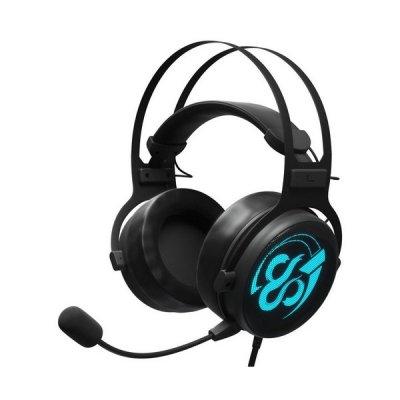 Newskill Kimera V2 - 7.1 Gaming Høretelefoner Med Mikrofon Og Led Lys - Sort