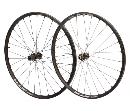 """Shimano XTR - Hjulsæt 27,5"""" XC MTB WH-M9000 med Quick release aksel - Tubeless"""