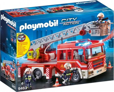 Playmobil Brandbil Med Stige - City Action